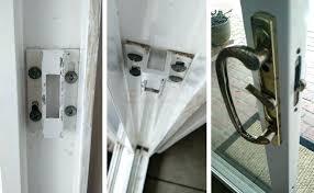 pella sliding door lock patio door lock user submitted photos of patio door hardware sliding patio