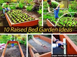 Small Picture 10 Raised Bed Garden Ideas