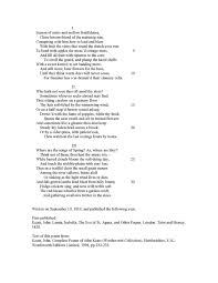 bourguignomicon to autumn by john keats tjb 3 sentences which address yet describe autumn 4 noun rich crop images 4 verb rich drowsy labor actions and 5 abstract sunset songs