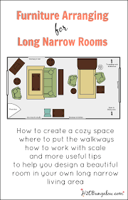 long narrow living room