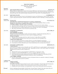 Hbs Resume Template Best Of Extraordinary Harvard Business Resume Samples With Resume Winsome