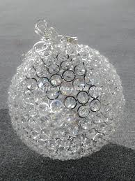 hanging crystal ball wedding decor crystal ball chandelier picture