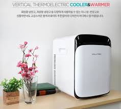 valutec vertical thermoelectric warmer and cooler vr 015l simple design mini cosmetic refrigerator in car and home