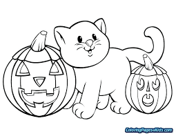 Cute Halloween Coloring Pages Cute Coloring Pages Free Printable