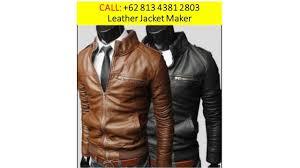 leather jacket maker