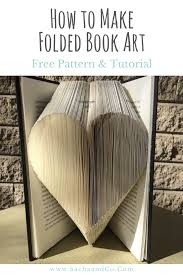 Free Book Folding Patterns Awesome Decorating
