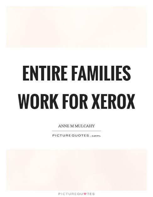 Xerox Quotes