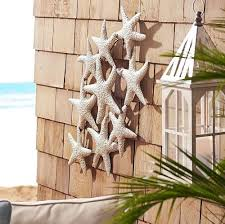 outdoor metal wall art beach theme