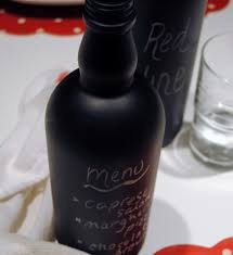 Decorating Empty Wine Bottles How to decorate empty wine bottles with chalkboard paint 39