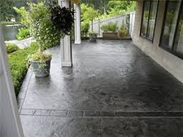 stained concrete patio gray. Stained Concrete Porch: Want To Do This Renew Our Front Patio. Patio Gray I