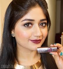 loreal arabian night lipstick dark lipstick on indian skin