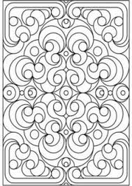 Small Picture Coloring Pages Patterns Free Geometric Pattern Coloring Page