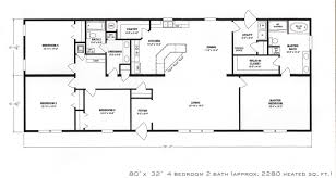 full size of bathroom impressive 4 bedroom ranch house plans 0 floor with bedrooms amazing small