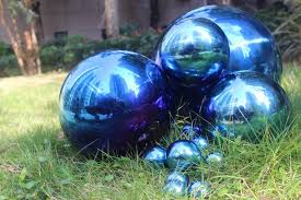 Stainless Steel Decorative Balls Aliexpress Buy 100 mm in diameter Blue stainless steel ball 44