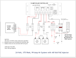 full list of solar system wiring installation circuit diagram 9 an extra large system two 48 volt poe industrial injectors