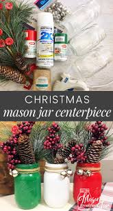Decorated Christmas Jars Ideas Christmas Mason Jar Ideas Christmas Mason Jar Centerpiece 99