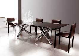 Crate And Barrel Glass Dining Table Dining Room Remarkable Glass Top Dining Tables Extraordinary