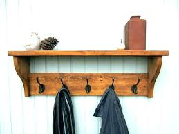 Wall Mounted Coat And Hat Rack