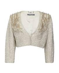 Alberta Ferretti Size Chart Alberta Ferretti Sequin Embellished Jacket