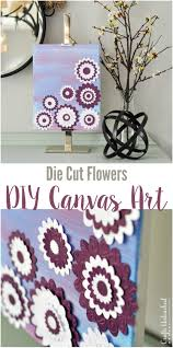 cut canvas wall art tutorial