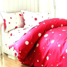 polka dot quilt cover set gold bedding the best photographs of pink sets bed and white
