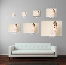 wall art size chart