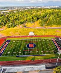 Solvay High School's Al Merola Field gets a new playing surface (video) -  syracuse.com