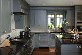 painted gray kitchen cabinetsKitchen  Painted Kitchen Cabinets Grey Ideas New Looks Repainting