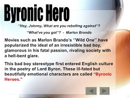 r ticism byronic hero