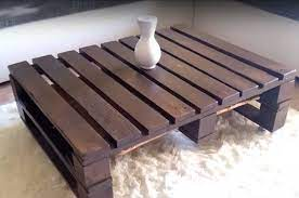 this diy pallet coffee table is the