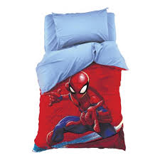 Комплект <b>постельного белья MARVEL</b> 1,5 спальный Человек-паук ...