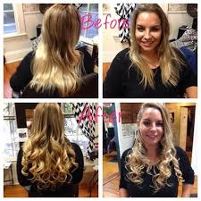 Dream Catchers Hair Extensions Before And After Hair Extensions Wavelengths Full Service Hair Studio in Boerne TX 72