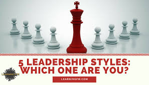 5 leadership styles which one are you