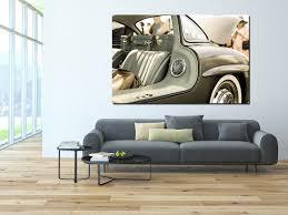 decorative wall prints mercedes