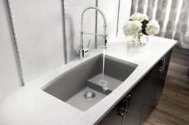 Undermount Kitchen Sinks Granite Kitchen Black Kitchen Sink With Astracast Razorbowl Rok Metallic
