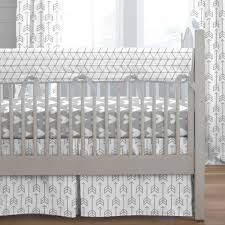 living marvelous grey and white nursery bedding 3 silver gray arrow crib large grey and white