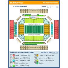 Alamodome Seating Chart Alamodome San Antonio Event Venue Information Get Tickets