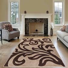 living room rugs modern area rug beige brown
