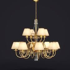 baga lamp art 1110 chandelier 3d model