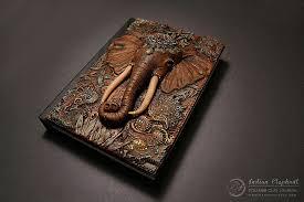 geek fantasy polymer clay book covers aniko kolesnikova