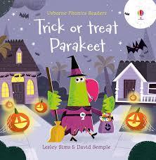 Trick or Treat, Parakeet? by Lesley Sims | Devonport Bookshop