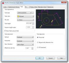 Autocad Text Height Chart Sizing Text In Cad Dimensions Best Cad Tips
