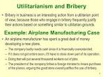 Bribery in business essay
