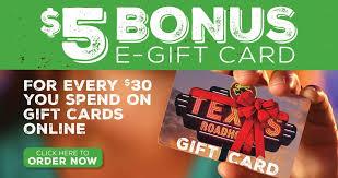 texas roadhouse gift card balance photo 1