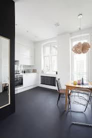 Painting Cement Floors Minimal Apartment In Poland Painted Concrete Floors Paint