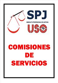 Resultado de imagen de comisiones de servicios
