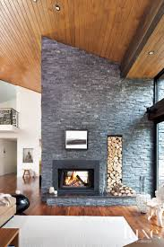 ... Best Modern Stone Fireplace Ideas Ways To Decorate Your Home For Fall  Stonemodern Fireplacestone Designsconcrete Contemporary ...