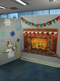 office xmas decorations. Office Christmas Decorations Ideas Alluring 1000 Images About Cubicle Decorating Contest On Xmas O
