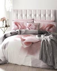 um image for light pink duvet cover single ted baker porcelain rose super king duvet cover
