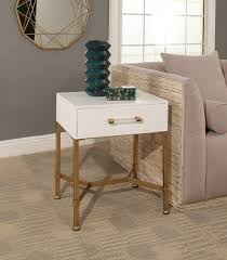gold end table. Sophie Gold Iron End Table, Table